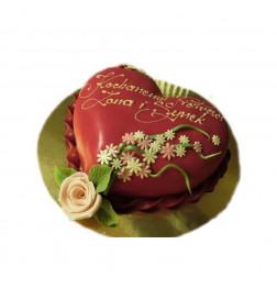 Tort Foto dla firm w masie cukrowej