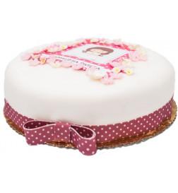 Różowy tort dla Wiktorii