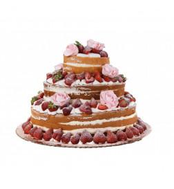 Tort Weselny NAKED CAKE