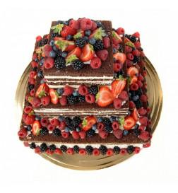 Tort Weselny NAKED CAKE -...