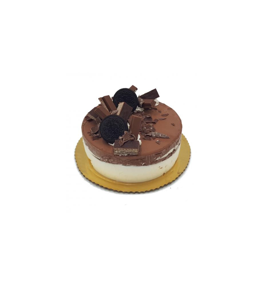 Tort Lodowy Śmietanka z Czekoladą