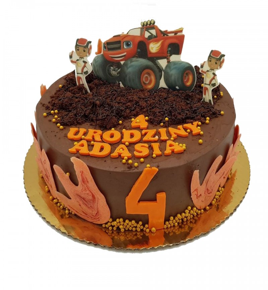 copy of Tort z Figurkami Scooby Doo