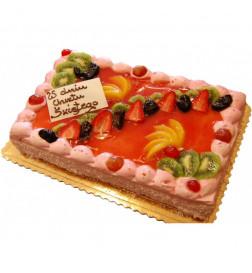 Tort Prostokąt z Galaretką