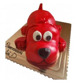 Tort Piesek 3D