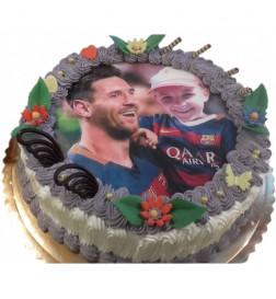Tort Fotomontaż