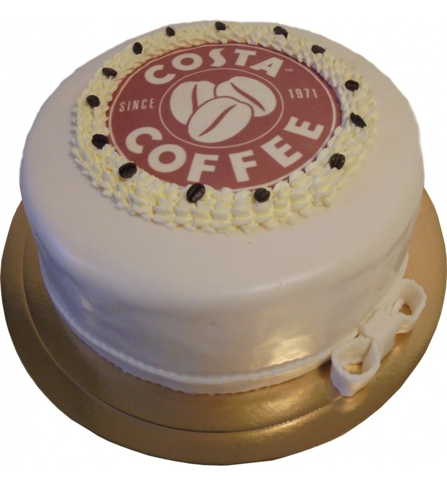 Tort Foto w masie cukrowej dla firm