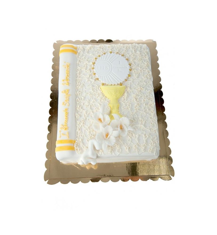 Tort Pismo Święte zamknięte