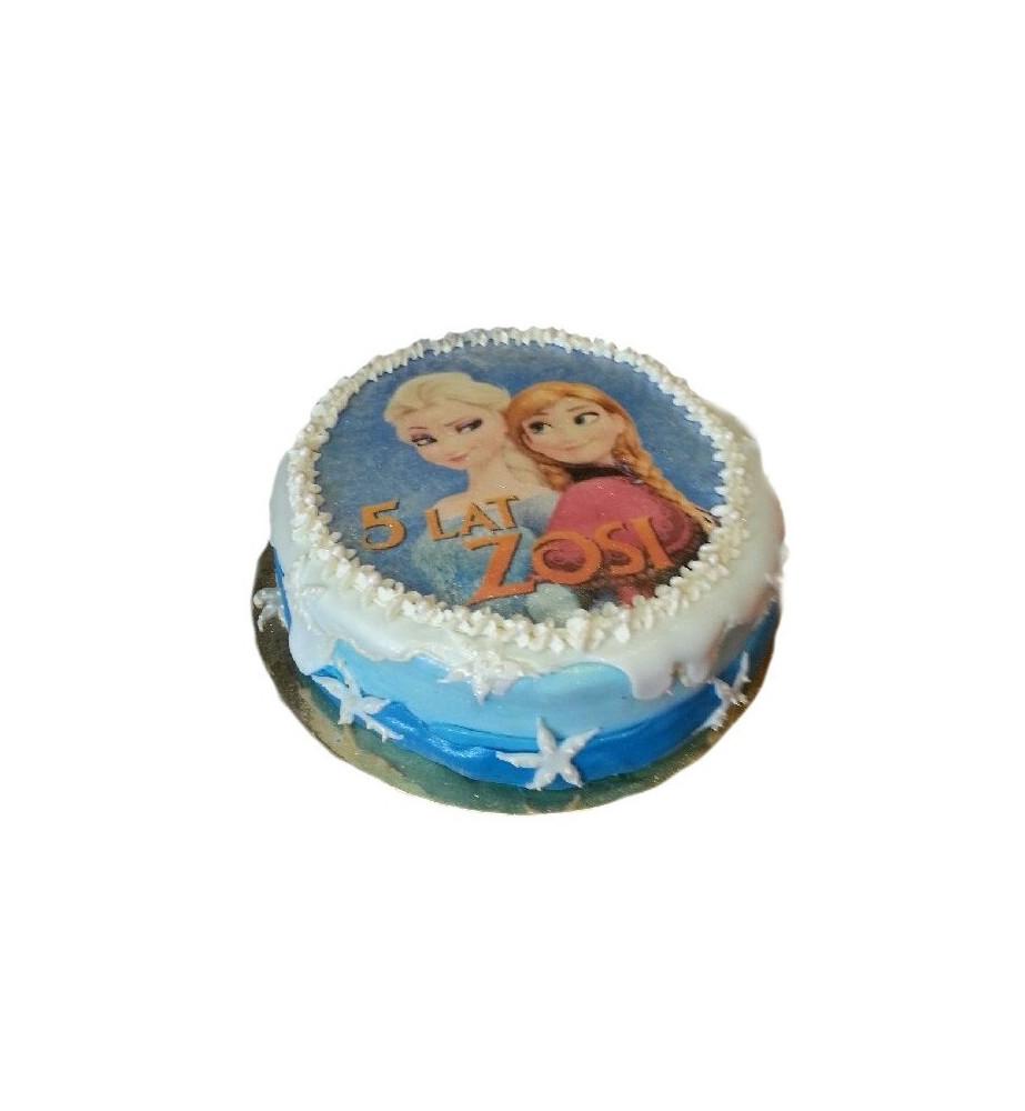 Tort Foto w masie cukrowej